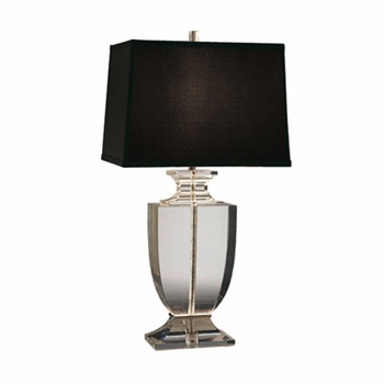 Clear Artemus Table Lamp