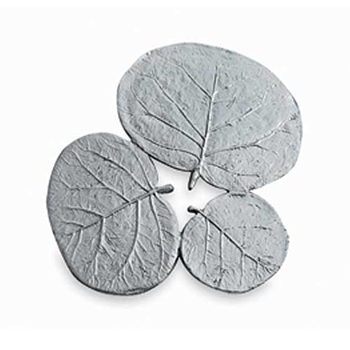 Botanical Leaf Nickel Trivet