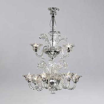 Murano 9 Light Chandelier