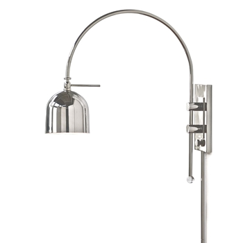 Arc Nickel Wall Lamp