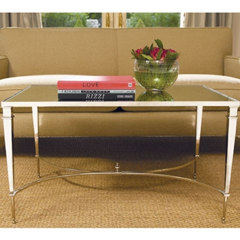 French Nickel Coffee Table