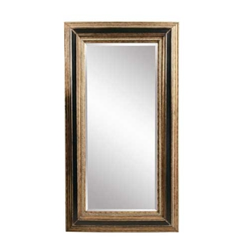 Bronze/Black Leaner Mirror