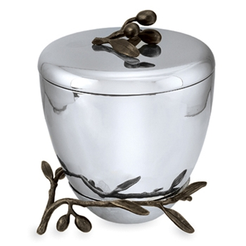 Olive Branch Stainless Steel Ice Bucket