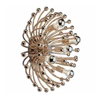 Anenome Nickel Wall Lamp (Large)