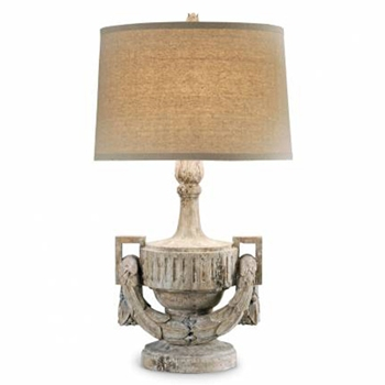Urn & Swag Table Lamp