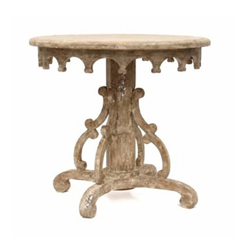 Italian Baroque White Washed Table