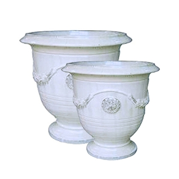 Anduze White Planter