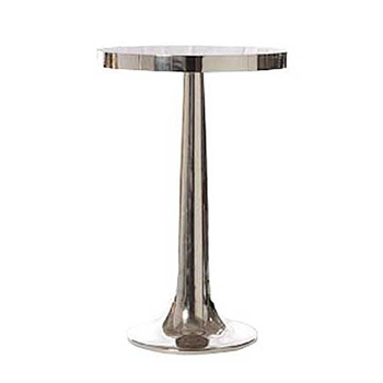 Trumpet Nickel Side Table