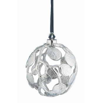 Holiday Botanical Globe Ornament