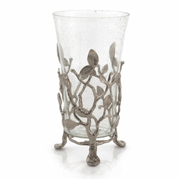 Sleepy Hollow Nickel Hurricane Lamp