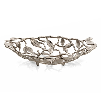 Sleepy Hollow Nickel Basket Bowl