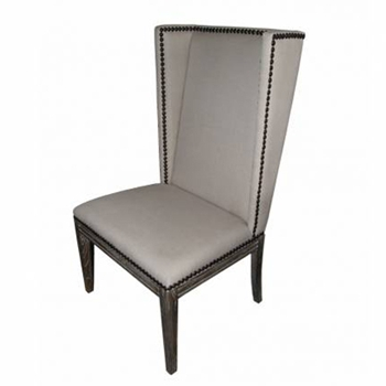 Nailhead Wing Side Chair