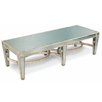 Cirq Antique Mirror Coffee Table