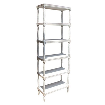 Isabelle White Bookcase