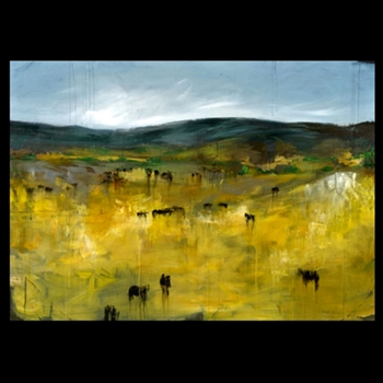Good Fences (42in x 30in)