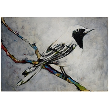 Pretty Bird (64in x 44in)