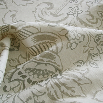 Oyster Linen Royal Ancanthus