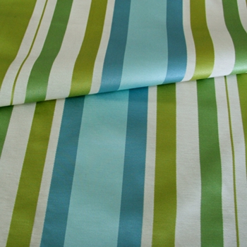 Skyblue Stripe Gable Lime/Turquoise
