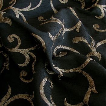 Patina Embroidered Gusto Vine