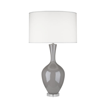 Audrey Taupe Table Lamp