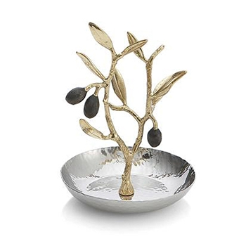 Olive Branch Dish 5in