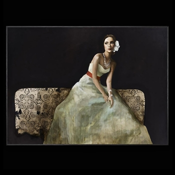 Lady On Bed II 60W/44H