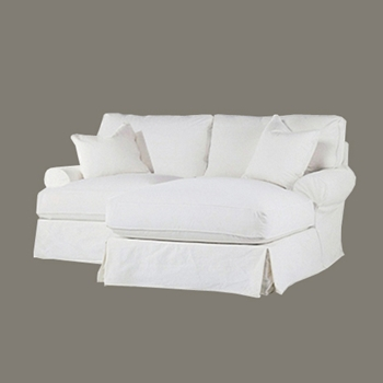 Comfy Chaise Sectional RAF 86W/69D/37H