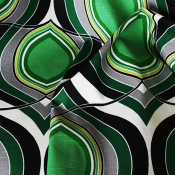 Emerald Print Groovy Move