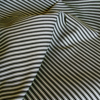 16. Blk/White Sunbrella Tic Stripe Outdoor