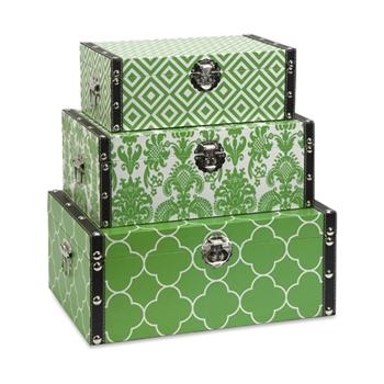 Toile Chest Box