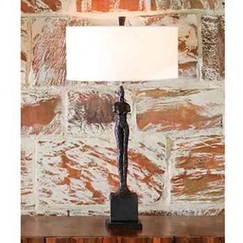 Woman Table Lamp