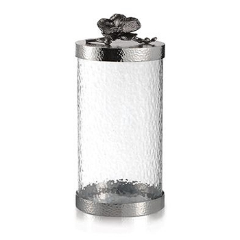 Black Orchid Cannister 11in