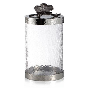 Black Orchid Cannister 10in