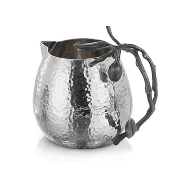 Olive Black Mini Pitcher 4in