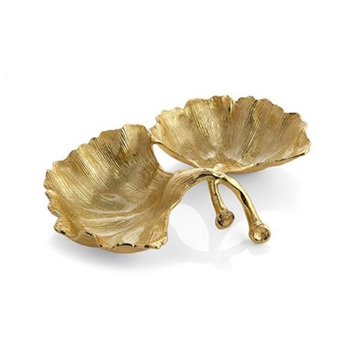 Gold Bowl - Ginko 10in