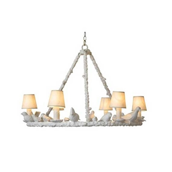 White Bird Chandelier 31W/21H