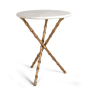 Bamboo Table 19RND/23H