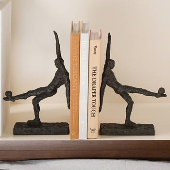 Soccer Kick Bookends