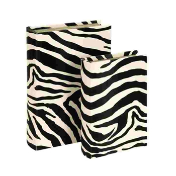 Zebra Book Box