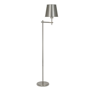 Aiden Nickel Floor Lamp