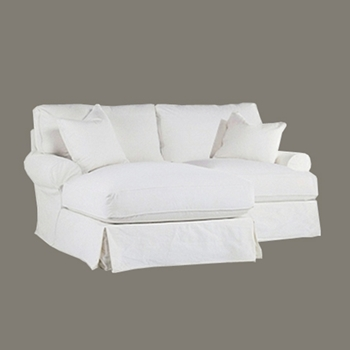 Comfy Chaise Sectional LAF 86W/69D/37H