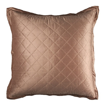 Chloe Velvet Taupe Cushion 26SQ