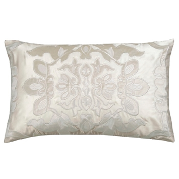 Morocco Linen Ivory Cushion 22W/14H