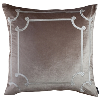 Angie Velvet Oyster Cushion 26SQ