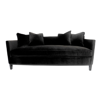 Ellis Sofa 74W/33D/34H Graphite