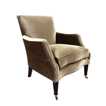 Georgia Chair 29W/39D/38H Taupe Gian