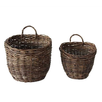 Wall Basket Set 12 & 14in