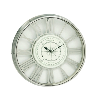 Compass Clock 21in