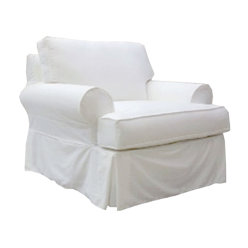 Sarah Slipcover Chair 42W/40D/30H