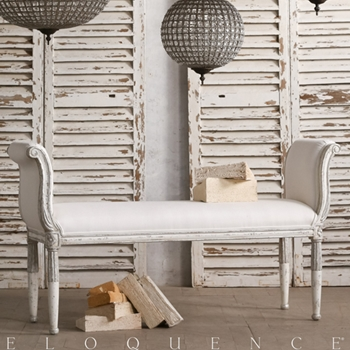 Eloquence® Madmoiselle Bench 56W/17D/31H